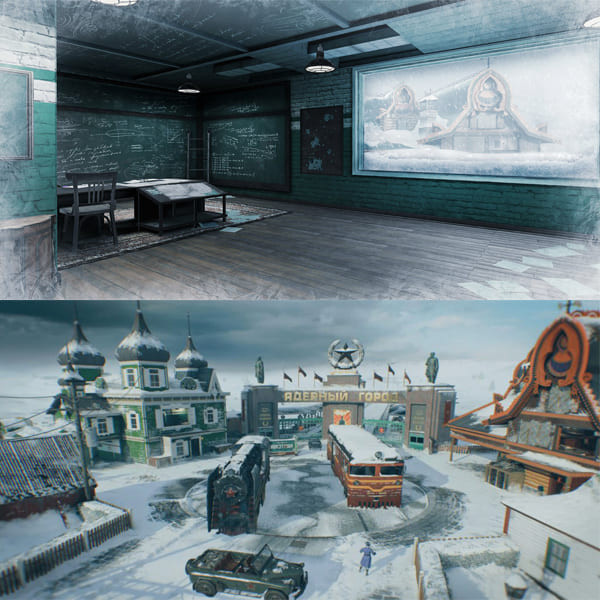 COD Mobile Season 13 Leaks New Map: Nuketown - Snow - zilliongamer
