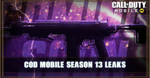 COD Mobile Season 13 Leaks: New Guns, Maps, & More