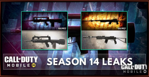 COD Mobile Season 14 Leaks Weapons, Characters, And Maps