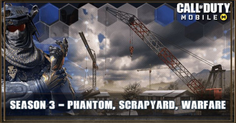 COD Mobile Season 3 - Phantom, Scrapyard, Warfare and More