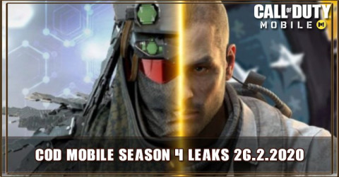 COD Mobile Season 4 Leaks: New Characters, Map, and Operator Skill