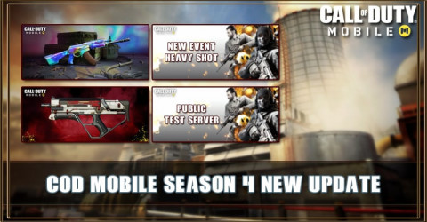 COD Mobile Season 4 Update: New Gun, Event, Map, Test Server, and More