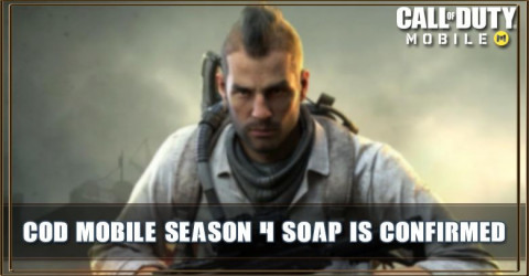 COD Mobile Season 4: Soap is Confirmed