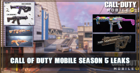 Cod Mobile Season 5 Leaks New Guns Skins Maps And More Zilliongamer