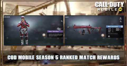 COD Mobile Season 5 Ranked Match Rewards Leaks
