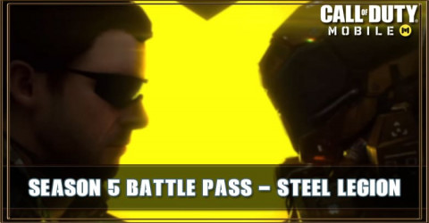 COD Mobile Season 5 Battle Pass: Steel Legion - New Characters and Gun Skins