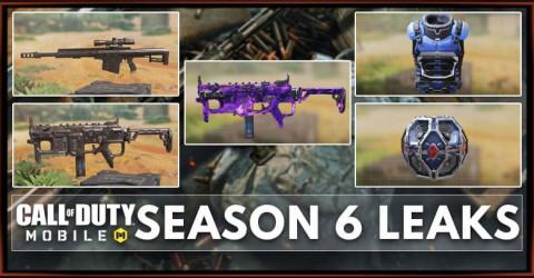 COD Mobile Season 6 Leaks: Weapons, Skin, Operator Skill, Scorestreaks, and More