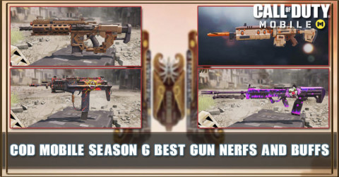 COD Mobile Best Gun for Season 6: Nerf and Buff Change