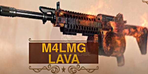 COD Mobile Season 6 Battle Pass Leaks: M4LMG Lava - zilliongamer