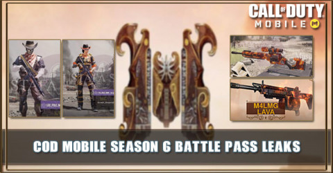 Cod Mobile Season 6 Battle Pass Leaks New Characters Rewards