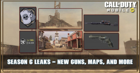 COD Mobile Season 6 Leaks: New Guns, Maps, and More