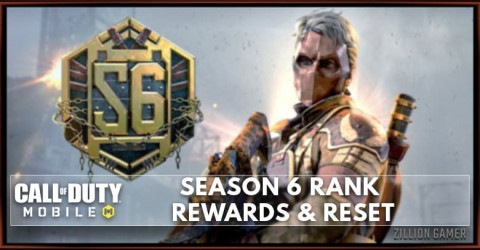 Call of Duty Mobile Season 6 Rank Reward and Tier Reset
