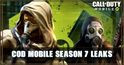 COD Mobile Season 7 Leaks: MP5, Characters, and more