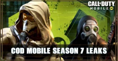 COD Mobile Season 7 Leaks: MP5, Character, Battle Royale
