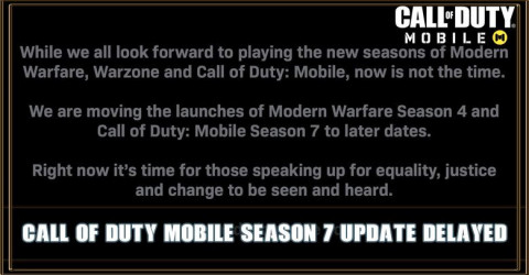 COD Mobile Season 7 Release Date Delayed To Later Date