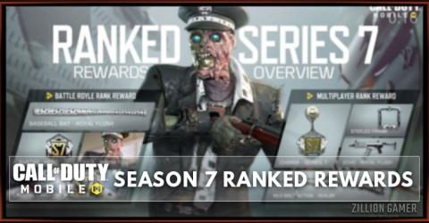 COD Mobile Season 7 Ranked Rewards Leaks