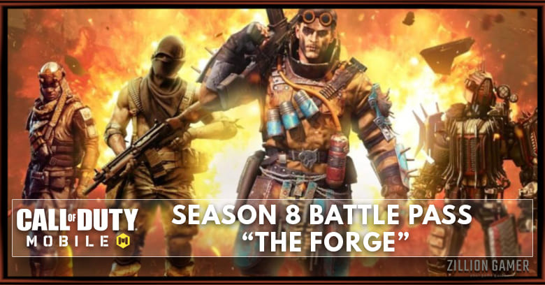 Cod Mobile Season 8 Battle Pass The Forge Leaks New Characters