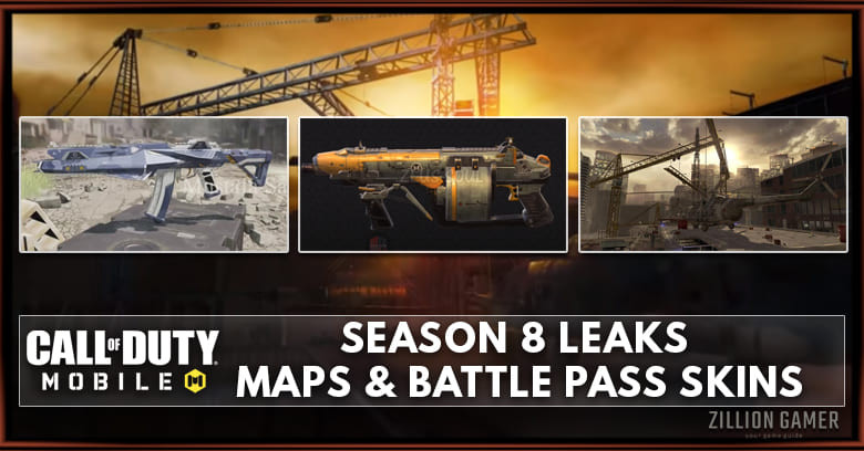 Cod Mobile Season 8 Leaks Release Date Map Battle Pass Skins