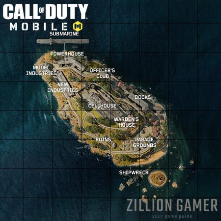 كود موبايلات الكاتراز تسرب الخريطة |  zilliongamer