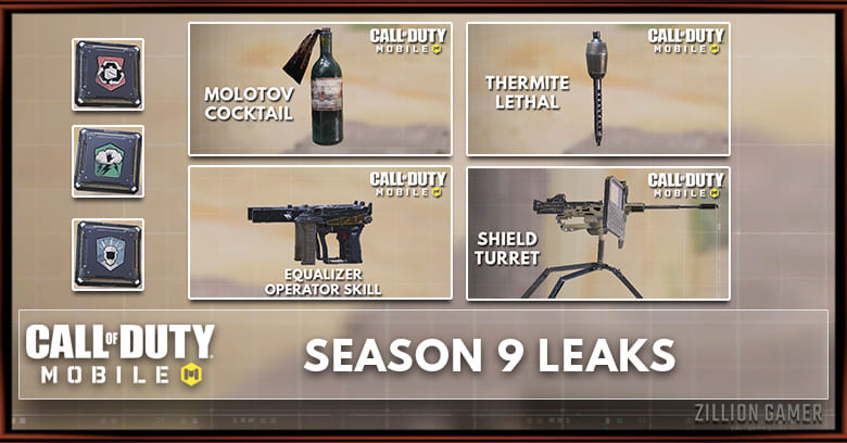 call of duty mobile season 9 skins
