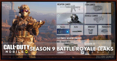 Cod Mobile Season 9 Battle Royale Leaks New Guns Class Map Tweaks Zilliongamer