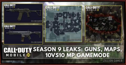 Cod Mobile Season 9 Leaks New Guns Maps Gamemode Zilliongamer