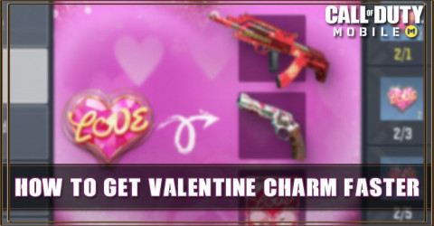 How to get COD Mobile Valentine Charm Faster