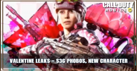 COD Mobile Valentine Leaks: S36 Phobos,Battery Valentine and More