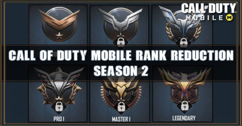 Call of Duty Mobile Season 2 Will Reduce Your Rank