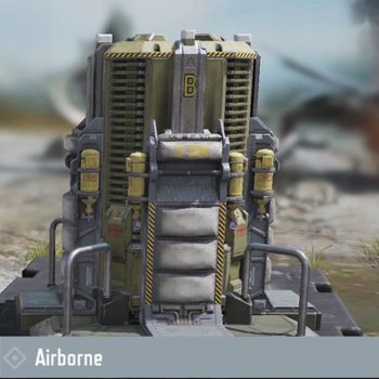 Airborne - New Battle Royale Chip in Call of Duty Mobile new update.