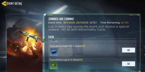 Call of Duty Mobile Zombie Event - zilliongamer