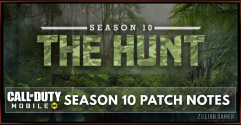Call of Duty Mobile Season 10 Patch Notes