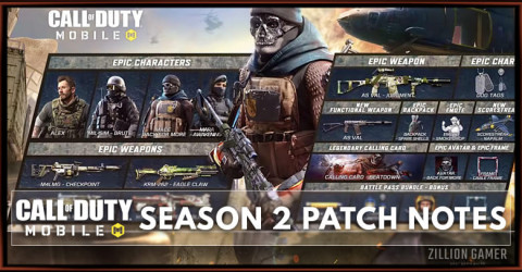 Call of Duty Mobile Season 2 Patch Notes