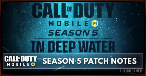 Call of Duty Mobile Season 5: In Deep Water Patch Notes