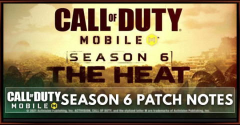 Call of Duty Mobile Season 6: The Heat Patch Notes