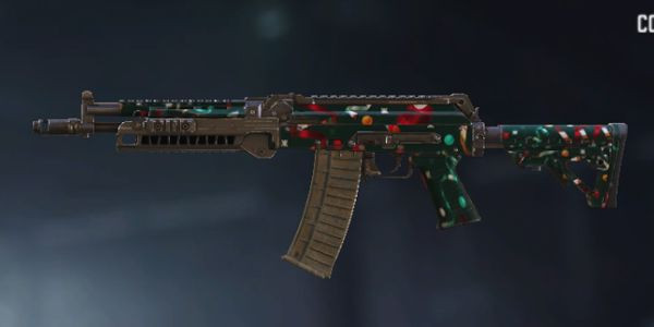 AK117 skins Holiday Ribbons in Call of Duty Mobile. - zilliongamer