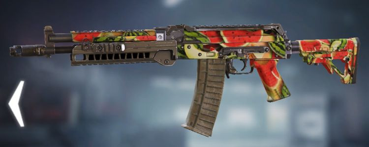 AK117 skins Melon in Call of Duty Mobile. - zilliongamer