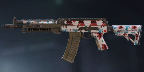 AK117 Skin: Reindeer in Call of Duty Mobile.