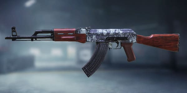 COD Mobile AK47 Skin: Corroded - zilliongamer