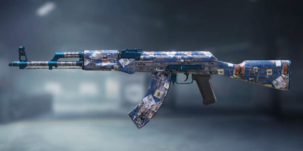 COD Mobile AK47 Skin: Posted - zilliongamer