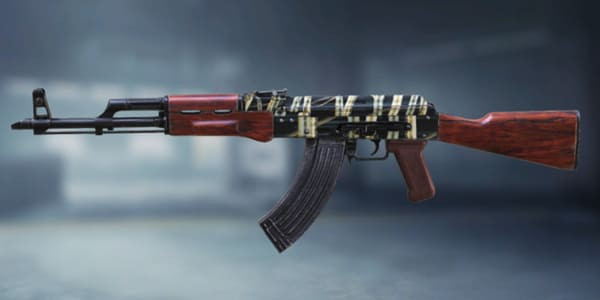 COD Mobile AK47 Skin: Reticulated - zilliongamer