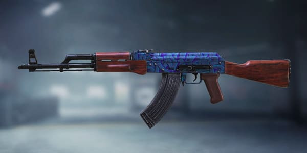 COD Mobile AK47 Skin: Tagged - zilliongamer