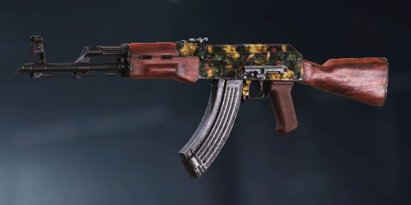 AK47 Jingle Bells skin in Call of Duty Mobile.
