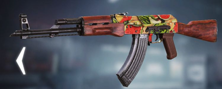 AK47 skins Melon in Call of Duty Mobile. - zilliongamer