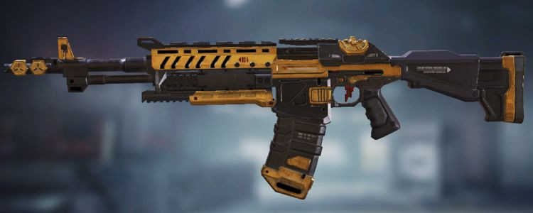 ASM10 skins Black & Gold in Call of Duty Mobile. - zilliongamer