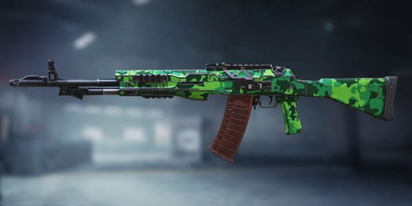 ASM10 Neon Green skin | Call of Duty Mobile - zilliongamer