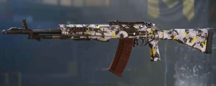 ASM10 skins Yellow Snow in Call of Duty Mobile. - zilliongamer