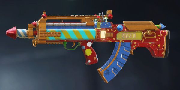 BK57 New Year'20 skin in Call of Duty Mobile.