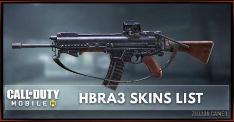 HBRa3 Skins List