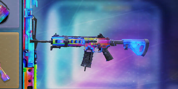 Color Spectrum ICR-1 Skin in Call of Duty Mobile.